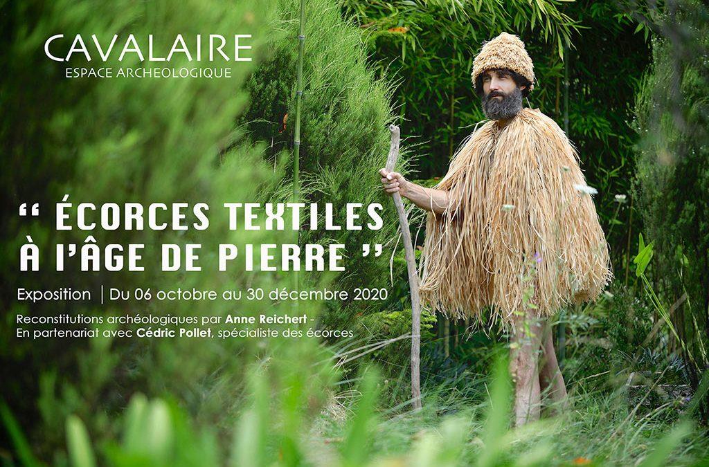 EXPO ARCHÉO « ÉCORCES TEXTILES À L'ÂGE DE PIERRE » (CAVALAIRE – 83)